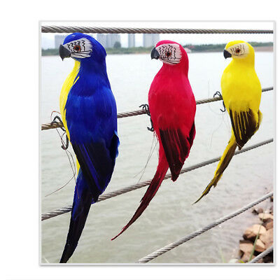 Bird Macaw Parrot soft toy plush toy stuffed animal Home Office Decoration 35CM