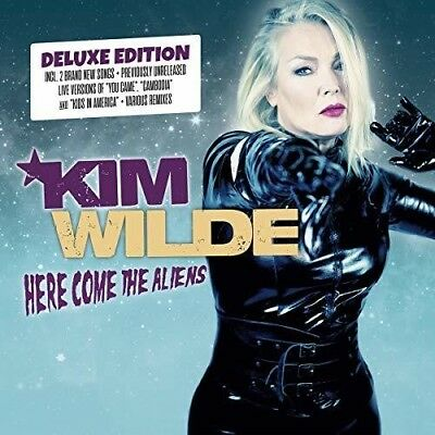 Here Come The Aliens - 2 DISC SET - Kim Wilde (2018, CD NEUF)