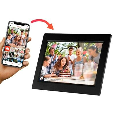 "Sylvania SDPF1095-B 10"" Wi-Fi Digital Picture Frame 8GB USB  2.0 & Mini USB"
