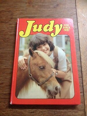 Judy for Girls 1981 (Annual)  Book