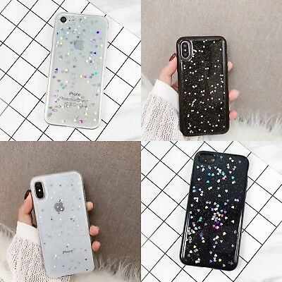 Glitter Soft Case Cover Paillette Girl Shockproof Cover For iPhone X 8 6s 7 Plus