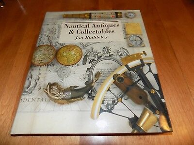 NAUTICAL ANTIQUES & COLLECTIBLES Maritime Antique Ships Ship Gear Tools Book