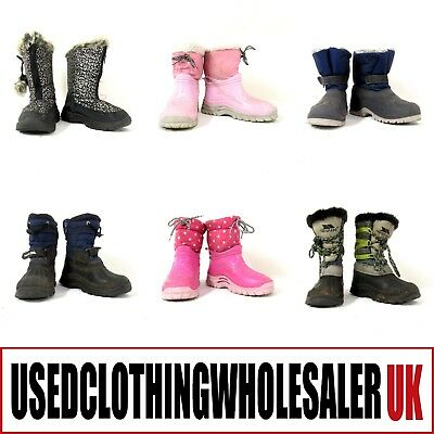 15 Children's Girls Boys Muck Boots Mucker Snow Stable Winter Wholesale Footwear