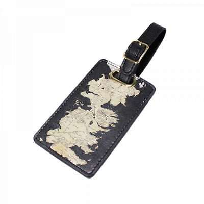 Game Of Thrones Westeros Map Luggage Bag Tag Label