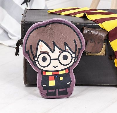 Official Harry Potter Bold Kids Shaped Cushion Pillow Matches Charm Bedding