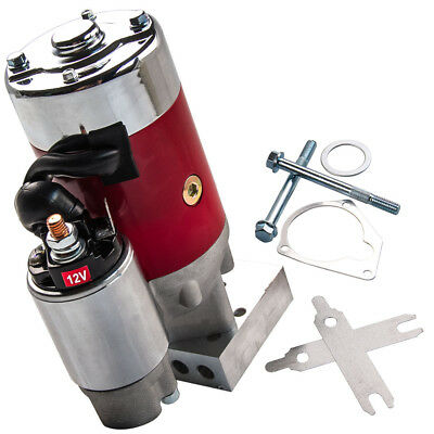 3 HP Tilton Style Racing Starter For CHEVY Hitachi GM HD Mini 305 350 454 RED