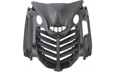 Front Grill Radiator Grill Panel Black for Yamaha Aerox MBK Nitro 50