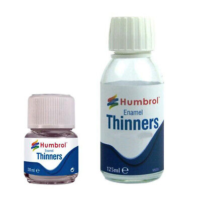 Humbrol Enamel Model Paint Thinners Both Sizes Available Thins Down Enamel Paint
