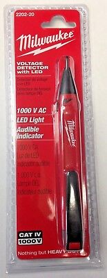 Milwaukee 2202-20 Voltage Detector With Led 1000 V AC