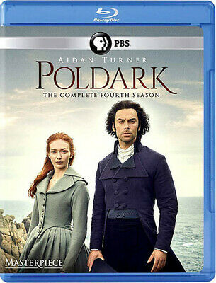 Poldark: The Complete Fourth Season (Masterpiece) [New Blu-ray] 3 Pack