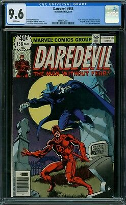 Daredevil 158 CGC 9.6 - White Pages