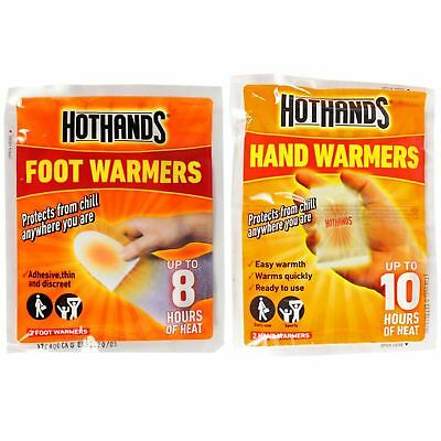 Hot Hands Hand Warmers & Foot Warmers Heat Warming Hothands Outdoors WorkCamping