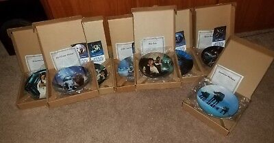 1986 Hamilton Collection STAR WARS COLLECTOR PLATES SET OF 8 New in Boxes