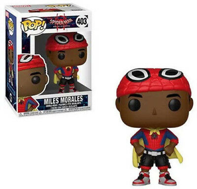 FUNKO POP! MARVEL: Animated Spider-Man - Miles Morales (Cape) [New Toy] Vinyl