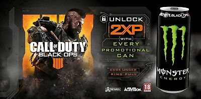 Call of Duty Black Ops 4 - 4 X 30min Double XP Codes - 2 HOURS - Fast Delivery