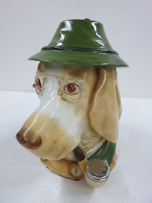Character Beer Stein Dog Pipe Glasses Jager Hunter Musterschutz Quality 100 Yrs