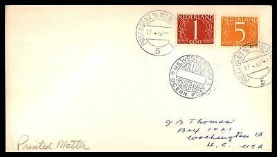 Netherlands Ms Westerdam Holland America Line 1962 Blue Cancels On Cover