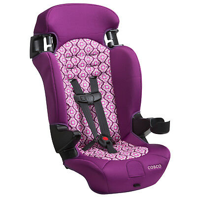 Convertible Car Seat Booster 2in1 Toddler Highback Safety Travel Girl Chair