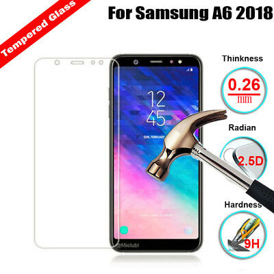 9H Tempered Glass Screen Protector For Samsung Galaxy J6 J8  A9 A6 A8 Plus 2018