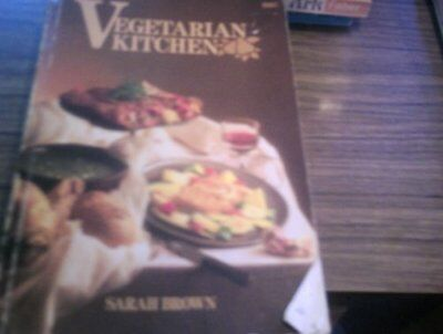 Vegetarian Kitchen by Brown, Sarah Paperback Book The Cheap Fast Free Post