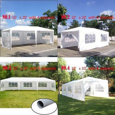 10'x20'/30' Canopy Party Outdoor Wedding Tent Heavy duty Gazebo Pavilion Cater E
