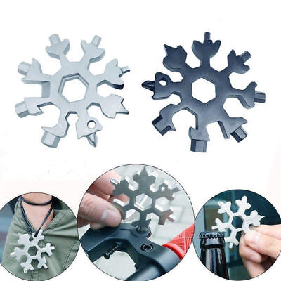 Amenitee 18-in-1 stainless steel snowflakes multi-tools [ Free Shipping ] BF