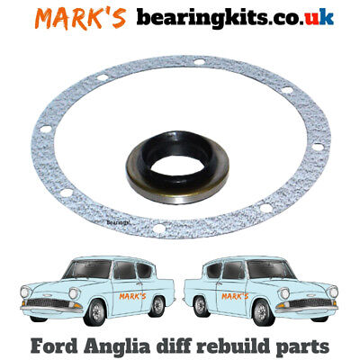 FORD ANGLIA 105E DIFF AXLE GASKET & PINION OIL SEAL Stops oil leaking from axle