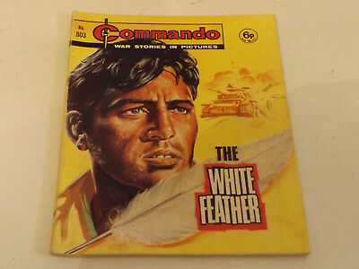 Commando War Comic Number 803 !!,1974 Issue,good For Age,44 Years Old,very Rare.