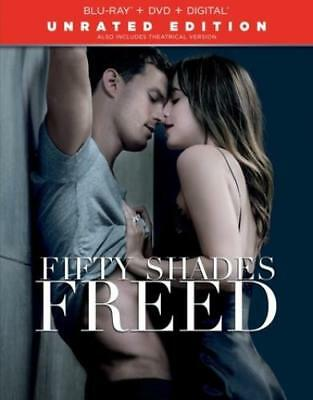 Fifty Shades Freed (DVD,2018)