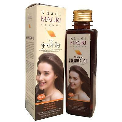 Khadi Mauri Herbal Maha Bhringraj Oil Ayurvedic Nourishing Oil 250ml