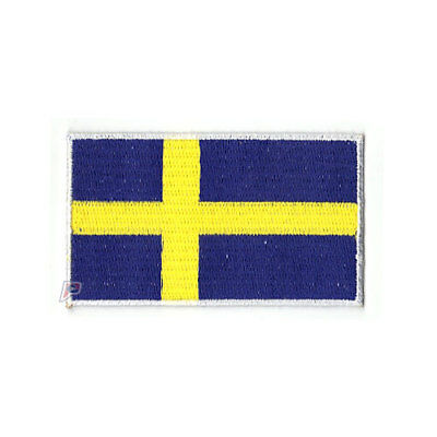 NATIONAL COUNTRY EMBROIDERED FLAG SEW ON PATCH APPROX 7cm x 4.5 cm