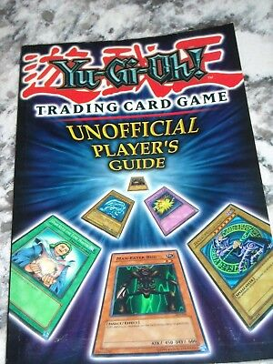 YU-GI-OH Unofficial Players Guide Booklet NEW Trading card game
