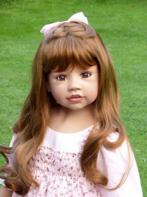 "Masterpiece Dolls Allison Blonde Wig Doll Not Included Fits Up To 20 1//2/"" Head"