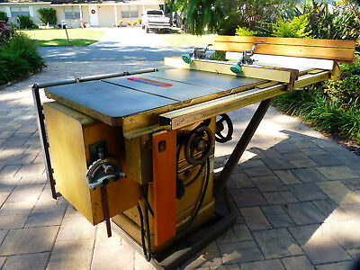 Powermatic 66 CABINET TABLE SAW  - 5 HP 1 PHASE - Accessories too!