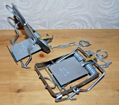 2 x NEW Genuine Mark 4 Fenn Spring Trap for Rats etc MADE IN UK includes VAT