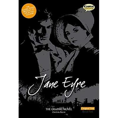 Jane Eyre The Graphic Novel: Original Text (British Eng - Paperback NEW Bronte,