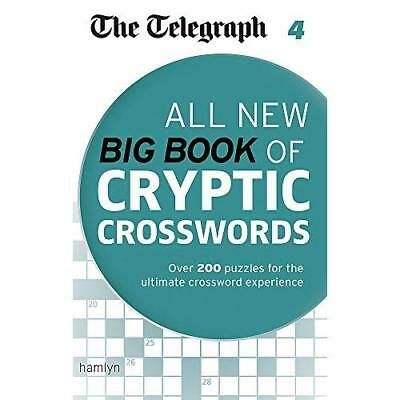 The Telegraph: All New Big Book of Cryptic Crosswords 4 - Paperback NEW THE TELE