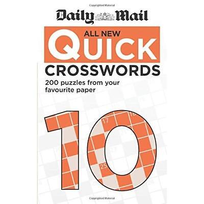 Daily Mail All New Quick Crosswords 10 - Paperback NEW Mail, Daily 19/04/2018