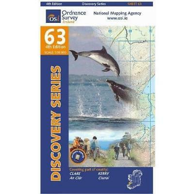 Clare, Kerry (Irish Discovery Series) - Map NEW Ordnance Survey 2012-12-17