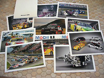 Porsche Official Rs Spyder Gt3 Rsr Motorsport Postcard Set Of 10 New 2008