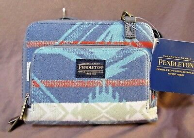 Pendleton Native american style Wallet on a Strap - Coquille Collection  M0157