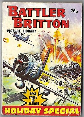 """""""BATTLER BRITTON"""" Picture Library Comic HOLIDAY SPECIAL. 3 stories. 192 pages"""