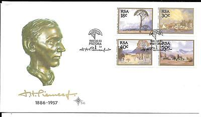 South Africa 1989 Paintings FDC