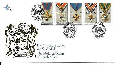 South Africa 1990 National Orders FDC