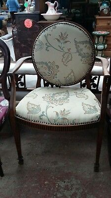 Victorian Moon Backed Chair