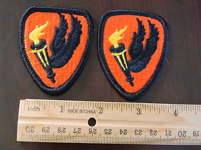 US Army Pathfinder aviation school color lot of 2 military patch patches