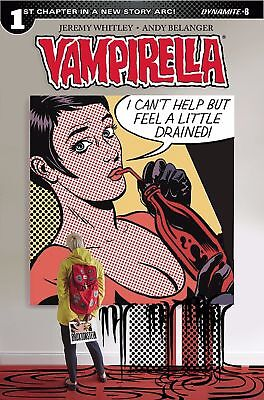 VAMPIRELLA #8 - COVER D BROXTON - New - First print - Dynamite (spine lines)