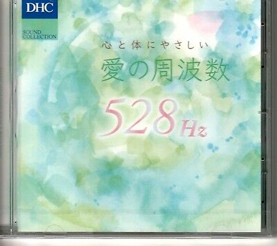Healing music CD Frequency of heart and body friendly love 528Hz FROM JAPAN F/S