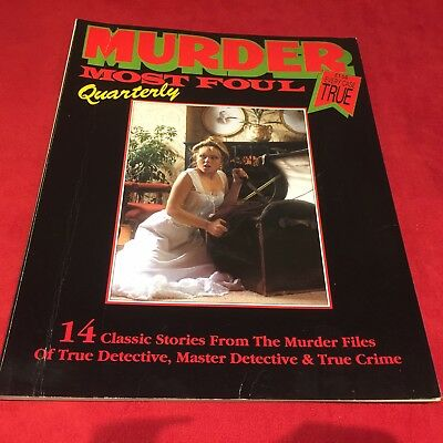 MURDER MOST FOUL TRUE CRIME QUARTERLY Wrexham Murders