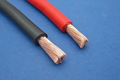 16mm2 110 A Amps Flexible PVC Battery Red Cable